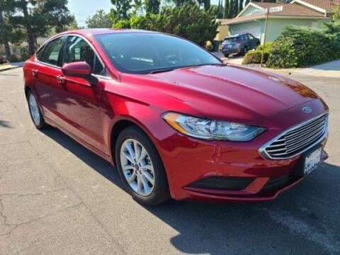 2017 Ford Fusion for sale at CAR CITY SALES in La Crescenta CA