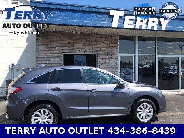 2018 Acura RDX for sale at Terry Auto Outlet in Lynchburg VA