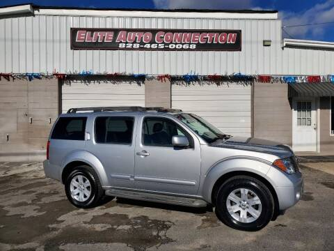 2006 Nissan Pathfinder for sale at Elite Auto Connection in Conover NC