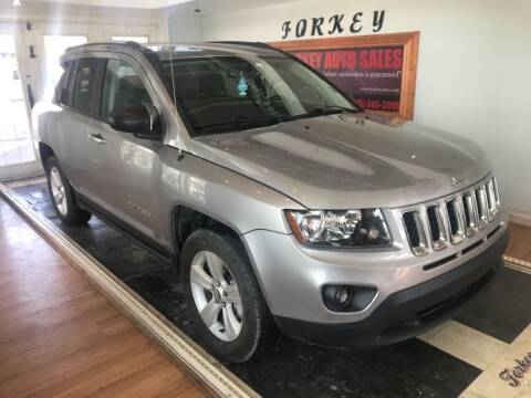 2016 Jeep Compass for sale at Forkey Auto & Trailer Sales in La Fargeville NY