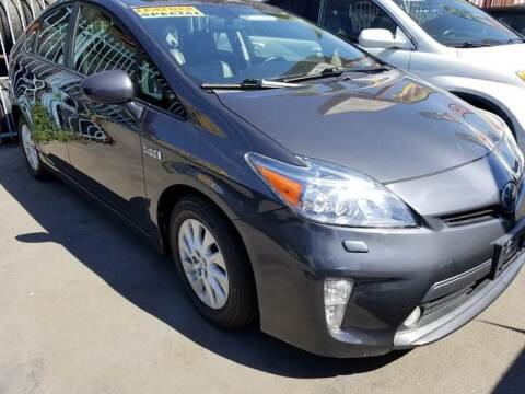 2012 Toyota Prius Plug-in Hybrid for sale at Ournextcar/Ramirez Auto Sales in Downey CA