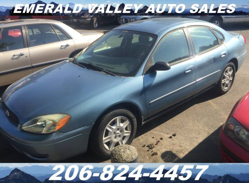 2007 Ford Taurus for sale at Emerald Valley Auto Sales in Des Moines WA