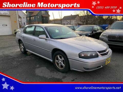 2004 Chevrolet Impala for sale at Shoreline Motorsports in Waterbury CT