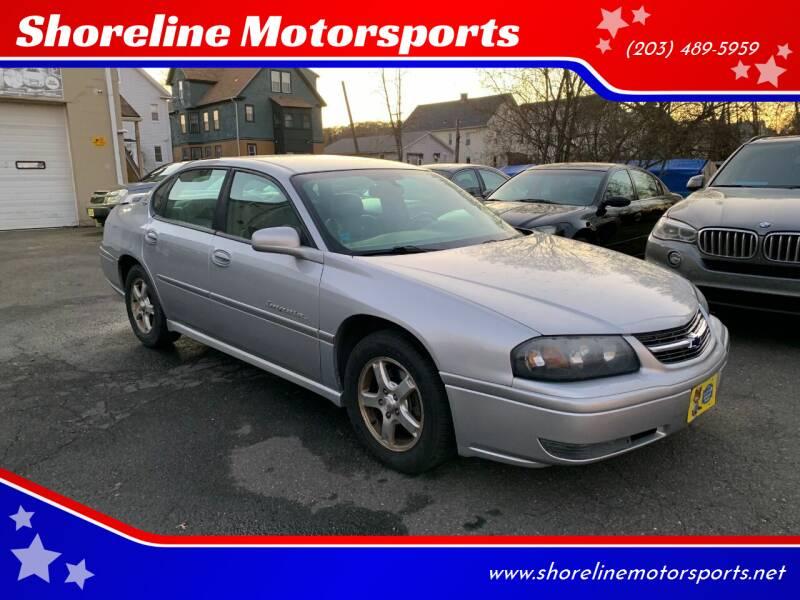 2004 Chevrolet Impala for sale at Shoreline Motorsports in Waterbury CT