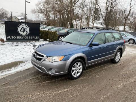 2008 Subaru Outback for sale at Station 45 Auto Sales Inc in Allendale MI
