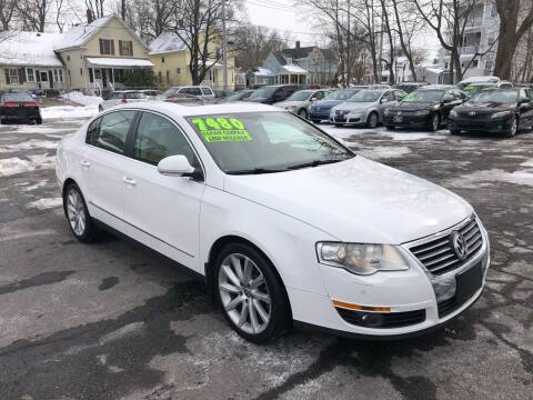 2008 Volkswagen Passat for sale at Emory Street Auto Sales and Service in Attleboro MA