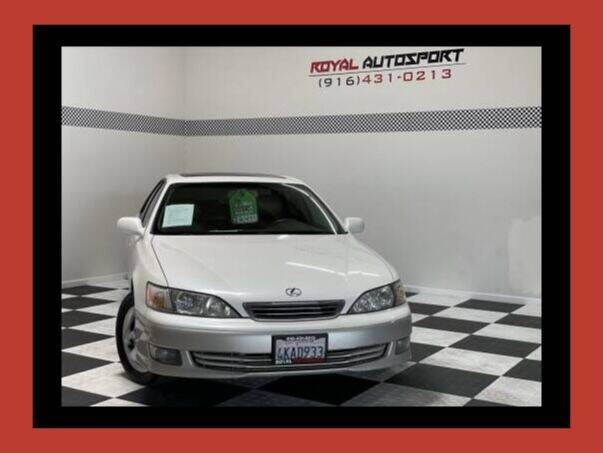 2000 Lexus ES 300 for sale at Royal AutoSport in Sacramento CA