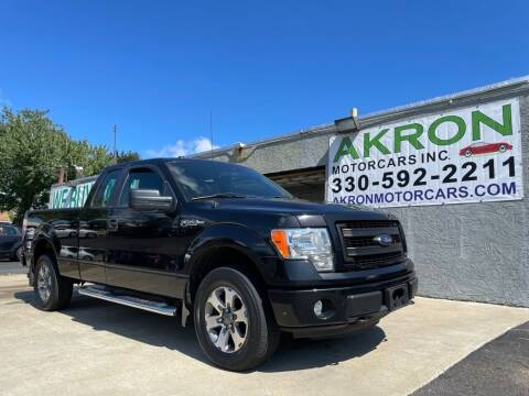 2013 Ford F-150 for sale at Akron Motorcars Inc. in Akron OH
