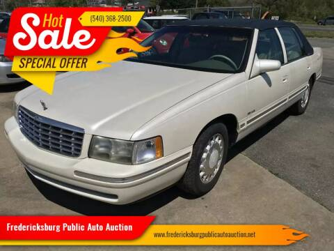 1999 Cadillac DeVille for sale at FPAA in Fredericksburg VA