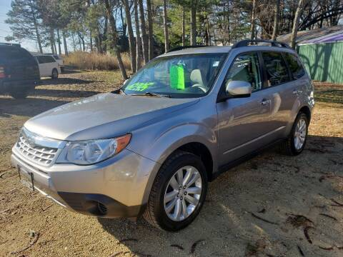 2011 Subaru Forester for sale at Northwoods Auto & Truck Sales in Machesney Park IL