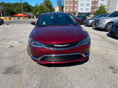 2015 Chrysler 200 for sale at Car Port Auto Sales, INC in Laurel MD