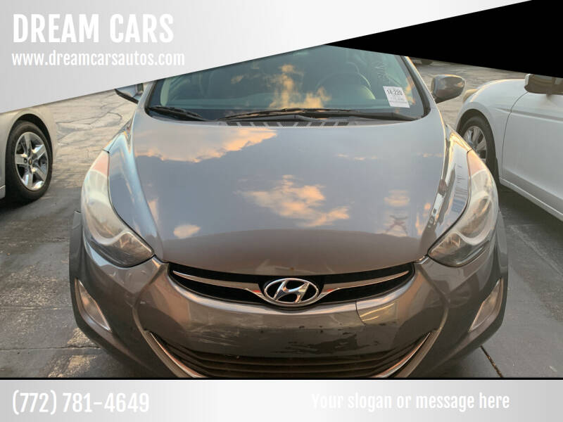 2013 Hyundai Elantra for sale at DREAM CARS in Stuart FL