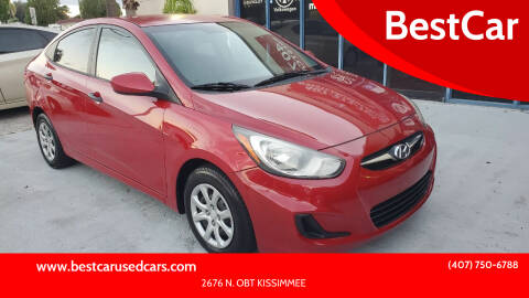 2012 Hyundai Accent for sale at BestCar in Kissimmee FL