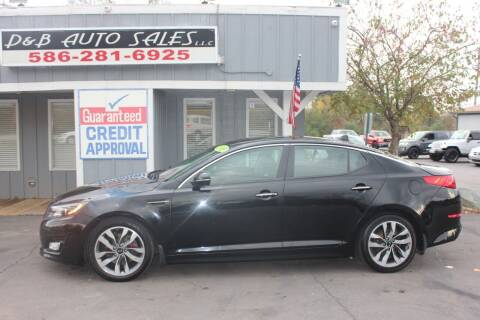 2015 Kia Optima for sale at D & B Auto Sales LLC in Washington MI