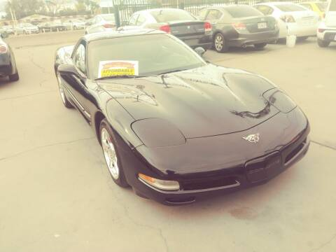 2003 Chevrolet Corvette for sale at Affordable Auto Finance in Modesto CA