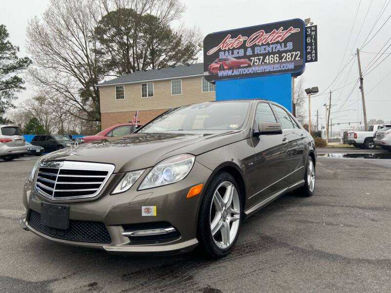 2012 Mercedes-Benz E-Class for sale at Auto Outlet Sales and Rentals in Norfolk VA