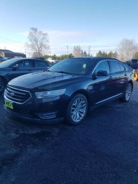 2013 Ford Taurus for sale at Jeff's Sales & Service in Presque Isle ME