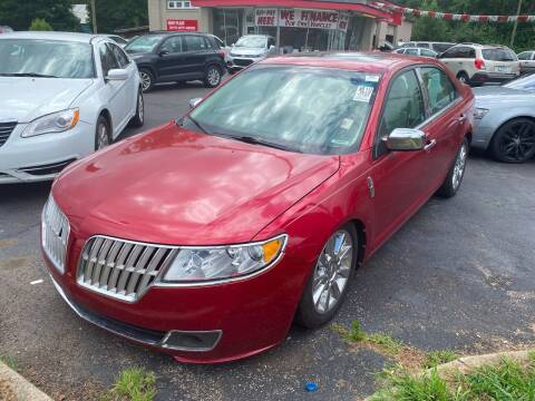 2012 Lincoln MKZ Hybrid for sale at Right Place Auto Sales in Indianapolis IN