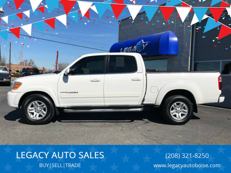 2005 Toyota Tundra for sale at LEGACY AUTO SALES in Boise ID