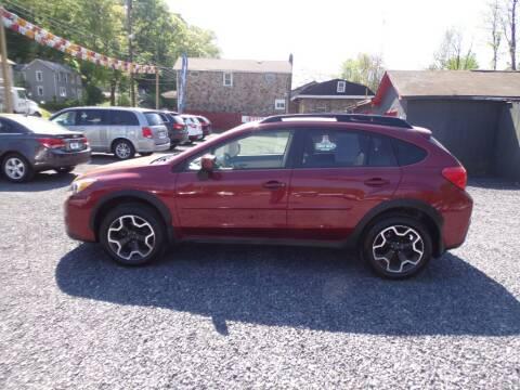 2014 Subaru XV Crosstrek for sale at RJ McGlynn Auto Exchange in West Nanticoke PA