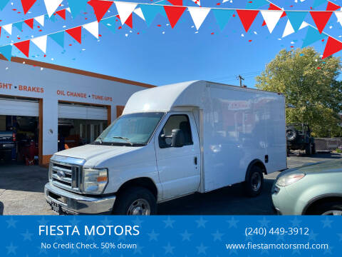 2011 Ford E-Series Chassis for sale at FIESTA MOTORS in Hagerstown MD