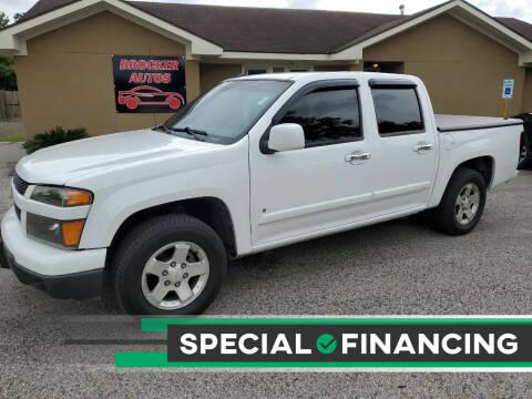 2009 Chevrolet Colorado for sale at Brocker Autos in Humble TX