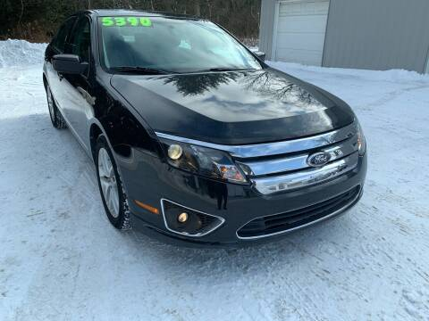 2010 Ford Fusion for sale at SMS Motorsports LLC in Cortland NY