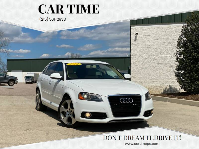 2012 Audi A3 for sale at Car Time in Philadelphia PA