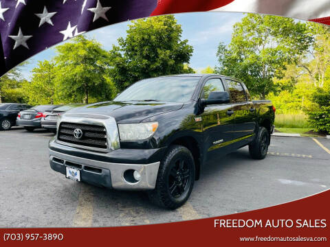 2008 Toyota Tundra for sale at Freedom Auto Sales in Chantilly VA