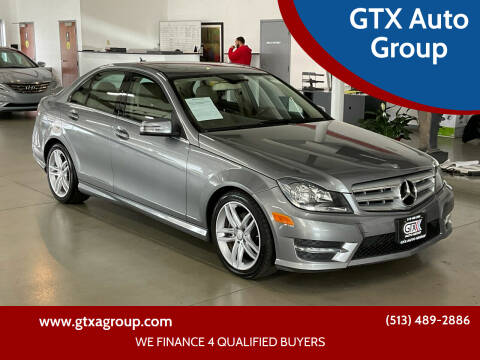2012 Mercedes-Benz C-Class for sale at GTX Auto Group in West Chester OH