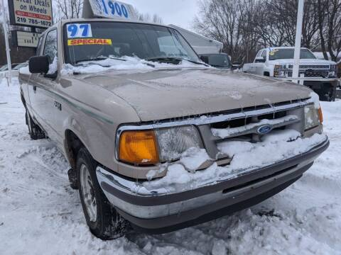 1997 Ford Ranger for sale at GREAT DEALS ON WHEELS in Michigan City IN