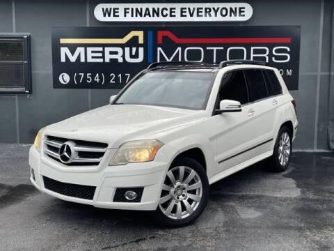 2012 Mercedes-Benz GLK for sale at Meru Motors in Hollywood FL