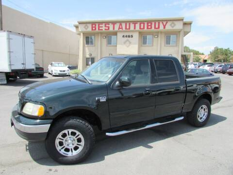 2003 Ford F-150 for sale at Best Auto Buy in Las Vegas NV