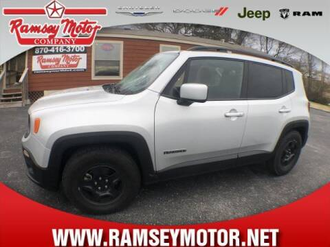 2017 Jeep Renegade for sale at RAMSEY MOTOR CO in Harrison AR