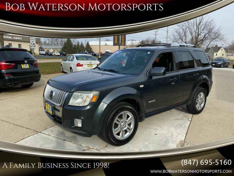 2008 Mercury Mariner for sale at Bob Waterson Motorsports in South Elgin IL