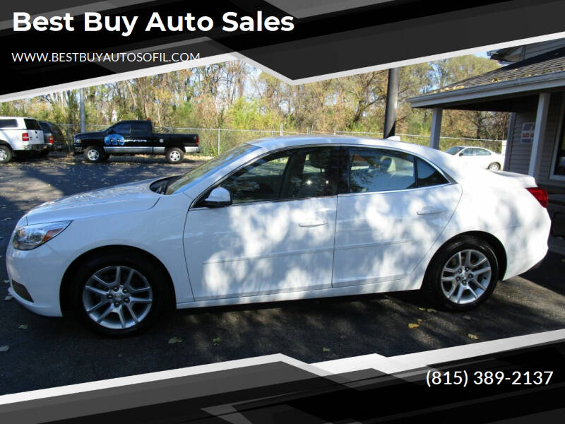 2013 Chevrolet Malibu for sale at Best Buy Auto Sales in South Beloit IL