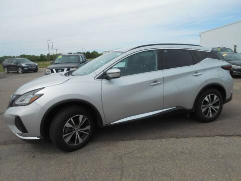 2020 Nissan Murano for sale at Salmon Automotive Inc. in Tracy MN