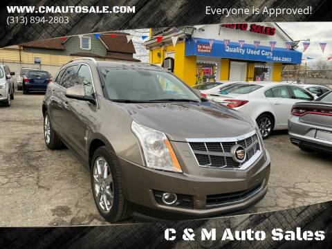 2012 Cadillac SRX for sale at C & M Auto Sales in Detroit MI