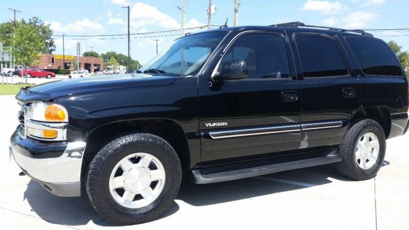 2004 GMC Yukon for sale at Allison's AutoSales in Plano TX