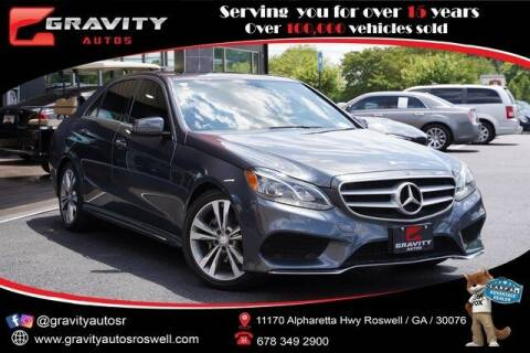 2016 Mercedes-Benz E-Class for sale at Gravity Autos Roswell in Roswell GA