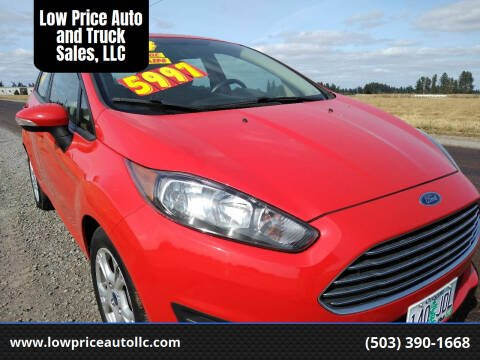 2014 Ford Fiesta for sale at Low Price Auto and Truck Sales, LLC in Salem OR