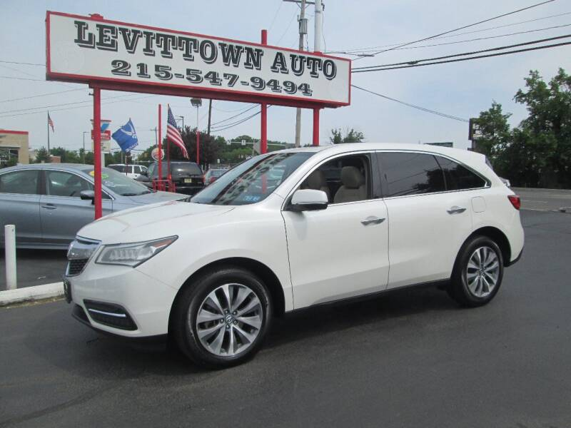 2014 Acura MDX for sale at Levittown Auto in Levittown PA