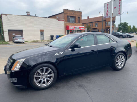 2008 Cadillac CTS for sale at Latino Motors in Aurora IL