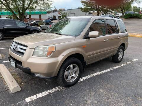 2006 Honda Pilot for sale at AROUND THE WORLD AUTO SALES in Denver CO