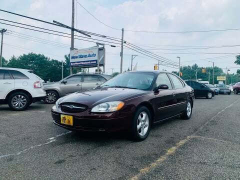 2001 Ford Taurus for sale at New Wave Auto of Vineland in Vineland NJ