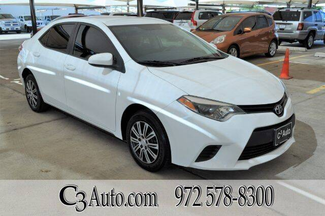 2015 Toyota Corolla for sale in Plano, TX