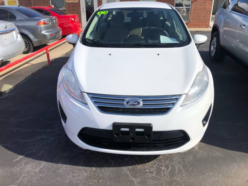 2013 Ford Fiesta for sale at Moore Imports Auto in Moore OK