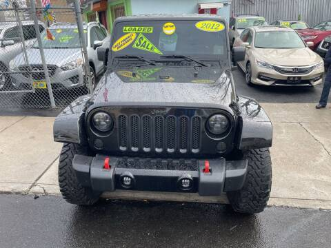 2012 Jeep Wrangler Unlimited for sale at Best Cars R Us LLC in Irvington NJ