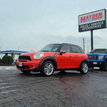 2012 MINI Cooper Countryman for sale at Hayden Cars in Coeur D Alene ID