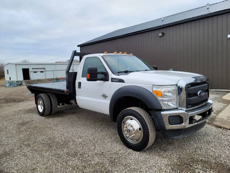 2016 Ford F-550 Super Duty for sale at J & S Auto Sales in Blissfield MI